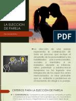 LA ELECCION DE PAREJA M