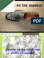 Una piedra en tu zapato
