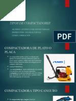 TIPOS DE COMPACTADORES