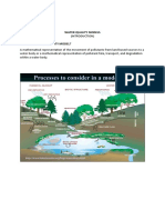 WATER QUALITY MODELS