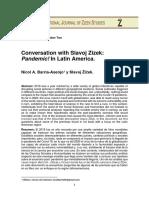 Interview Nicol - Zizek / Pandemic! (2020)