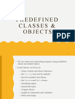 Week4 - Predefined Classes and Objects.pptx