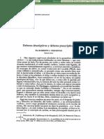 Deberes Descriptivos y Deberes Prescriptivos - Roberto J. Vernengo