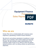Sales Representatives Training