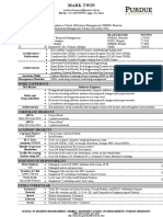 Sample CV Format with gudelines (1)
