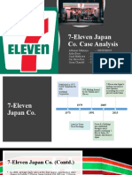 7-Eleven Japan Co. Case Analysis
