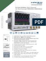 Mixed Signal Oscilloscope HMO3002 [HMO3004]
