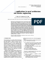 Neural network applications in naval architecture and marine engineering