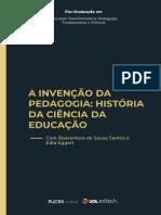 Livro+da+Disciplina+-+A+Invenção+da+pedagogia+-+Oficial