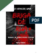 E-book Como Vencer uma Briga de Rua - Mestre Wesley Gimenez