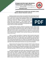 Surat Himbauan PDPI Update Transmisi COVID-19