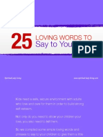 25 Loving Words to Say to Your Kids