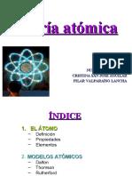 FyQ TEORÍA ATÓMICA