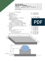 Design of Concrete Pad.xls