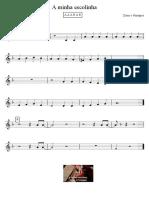 A Minha Escolinha Xutos e Pontapes Partitura Educacao Musical Jose Galvao