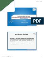 Pelatihan Sistem PLTS Maret PELATIHAN SISTEM PLTS INSPEKSI, PENGUJIAN DAN KOMISIONING SISTEM FOTOVOLTAIK Rabu, 25 Maret 2015