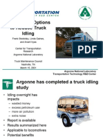 Truck Idling