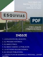 Geografia - Trabajo Del Municipio - Esquivias