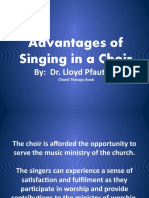 ADVANTAGES OF SINGING & BEATING TECHNIQUES