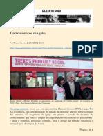 Flávio Gordon - Darwinismo e religião.pdf