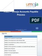 FI321_Umoja Accounts Payable Process_ILT PPT_v11
