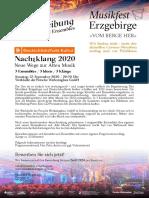 Nachtklang Musikfest Erzgebirge 2020