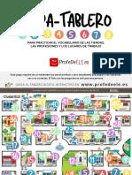 ProfeDeELE - Tablero profesiones y lugares trabajo_1.0
