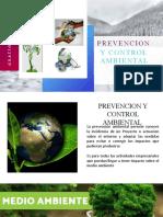 DIAPOS EXPO PREVENCION Y CONTROL AMBIENTAL