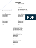 María Juliana - Jesucristo basta - Lyrics