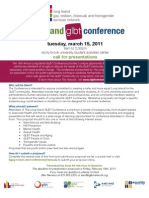 Long Island GLBT Conference - Request for Proposals