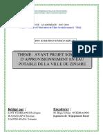 projet_eau_loti _wansi _ yantio