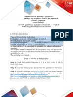 Activities guide and evaluation rubric - Unit 3 - Task 5 - Technology development Production.pdf