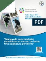 Taller_Bayer_2015_enfermedadesmetabolicas_Proceeding