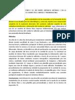 TRATAMIENTO ENDODÓNTICO DE UN DIENTE ANTERIOR ANÓMALO