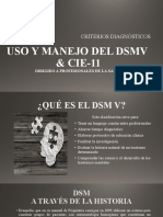 USO Y MANEJO DEL DSMV