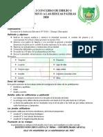 BASES DEL CONCURSO DE DIBUJO Y PINTURA CHUMPE 2020