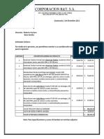 COTIZACION TURBINAS%2c MOTORES Y UNIDADES DE BOMBEO BARAHONA RD 5 12 13 Rev