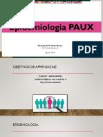 Clase 4. Epidemiologia PAUX