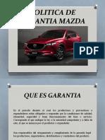 POLITICA DE GARANTIA MAZDA.pptx
