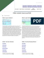 Free Gear Calculator _ KHK Gears