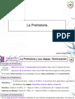 La Prehistoria. Unidad 8. Jaime Arias Prieto-1