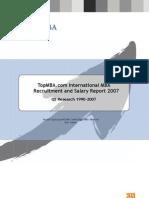 2007 MBA Recruitment Report