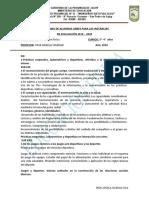 PROG. 2019-2020 LIBRES 5 ° PROF.. ANGELA SOLEDAD SOSA .