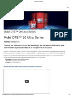 Mobil DTE™ 20 Ultra Series