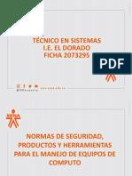 NORMAS DE SEGURIDAD PC