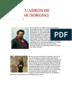 CUADROS DE MÚSORGSKI