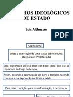 Luís Althusser - Aparelhos Ideológicos de Estado