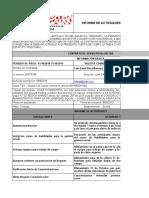 INFORME DE ACTIVIDADES UNIDOS- SEPTIEMBRE