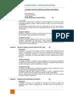 04 ESPECIFICACIONES TECNICAS  I.S