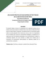 APLICACIÓN PRÁCTICA DE UNA BATERÍA DE TEST FÍSICOS EN CLASES DE EDUCACIÓN FÍSICA.pdf